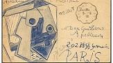متن کوتاه انگلیسی درباره ی کارت پست پیکاسو